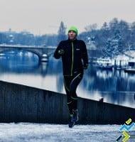 Runner en hiver