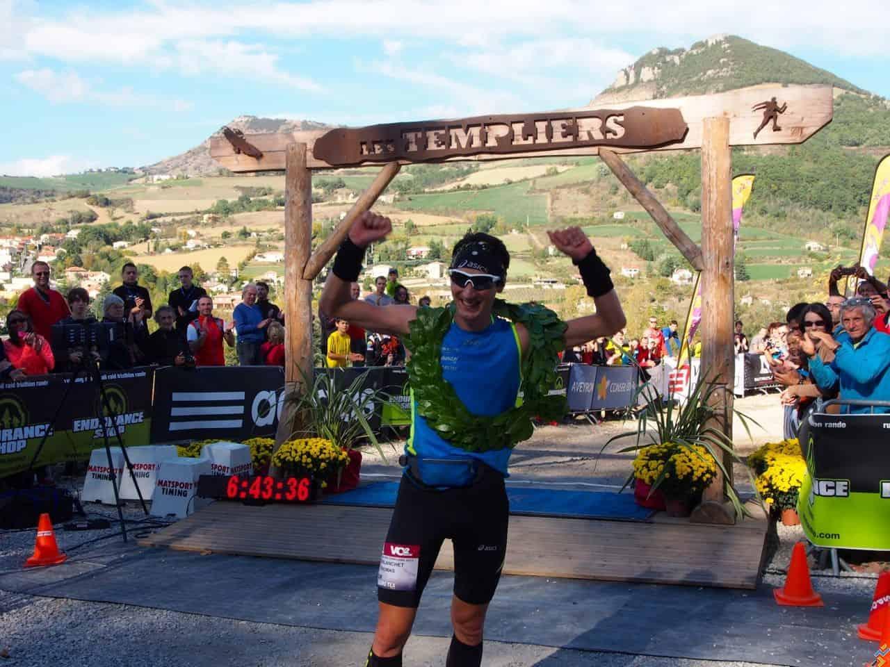 Thomas Lorblanchet en vainqueur