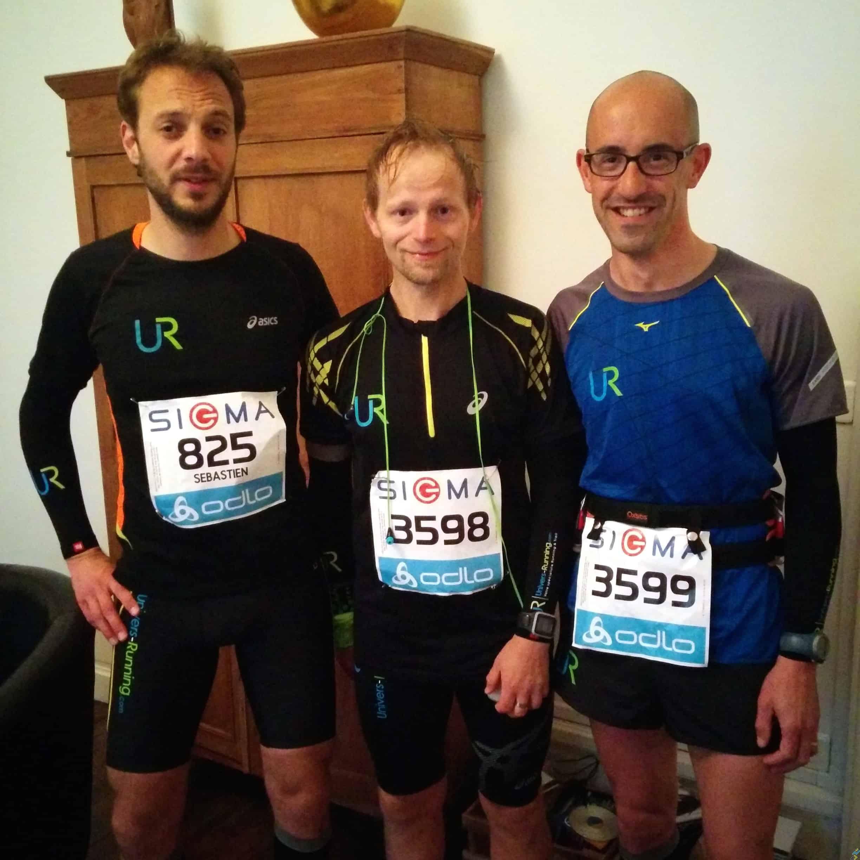 Team UR marathon Nantes