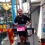 Tentative de record du monde des 12h sur tapis de course