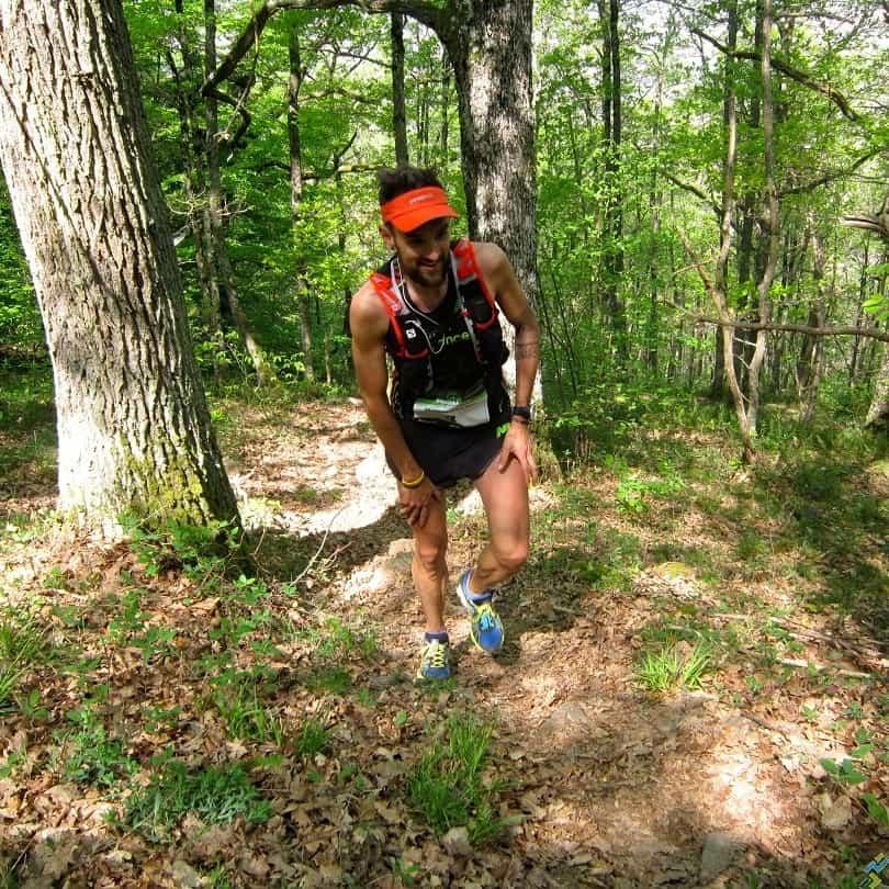 Yoann Stuck team UR trail Beaujolais