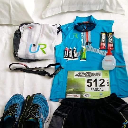 Pascal Team UR marathon d'Annecy