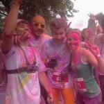 Color Me Rad à Lille avec l'équipe UR