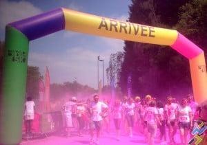 Arrivée Color Run