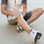 Man Suffering Pain Knee