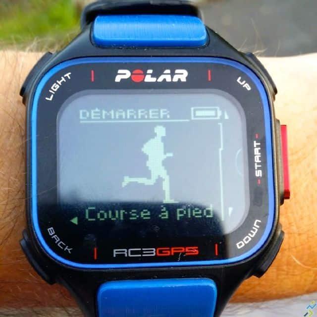 Test Polar RC3 GPS 3