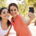 Selfie, autoportrait d'un runner d'aujourd'hui