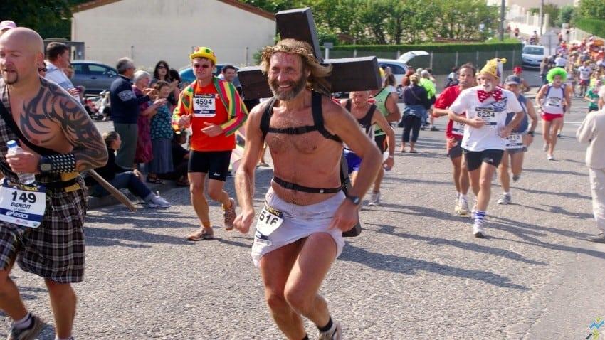 Jésus est-il un coureur de fond ?