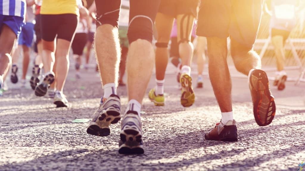 Bénévoles et course à pied