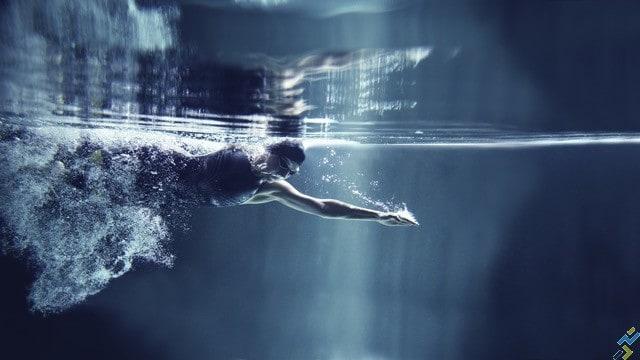 natation et course à pied