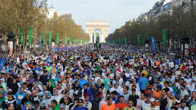 Schneider Electric Marathon de Paris 2015