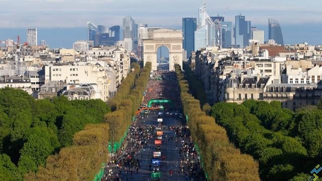 marathon de Paris dossard 2016