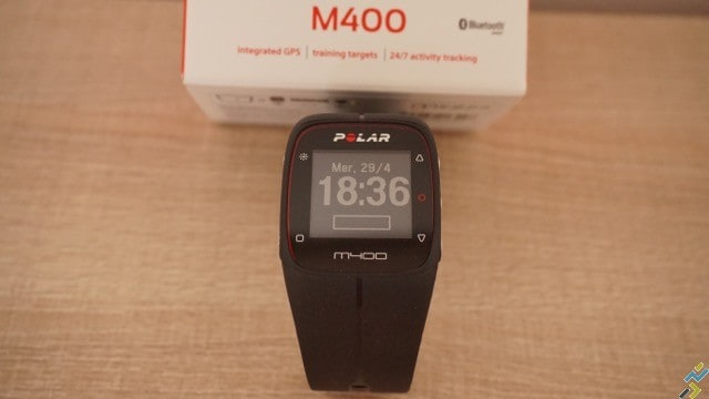 test montre GPS Polar M400 N°6