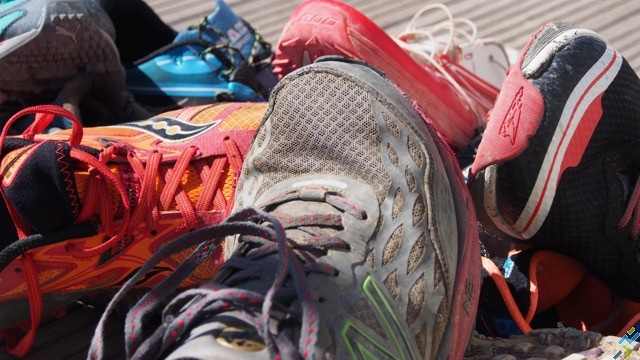 Chaussures trail usure