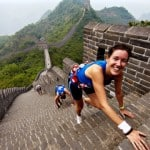 Ils ont couru sur la Grande Muraille de Chine
