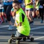 Sans bras ni jambes, il boucle son premier marathon