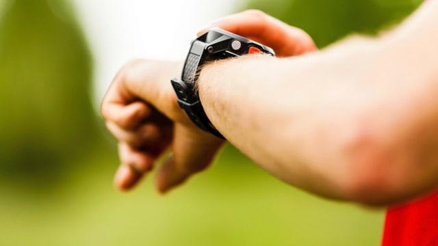 montre gps running cardio poignet