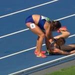 L'esprit olympique résumé en un seul geste