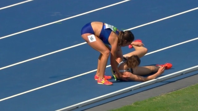 dagostino-hamblin-5000-metres-chute-esprit-olympique-rio - 2