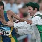 L'histoire marquante de ce marathonien qui allume la flamme olympique