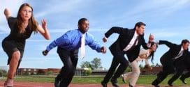 Courir avec ses collègues de boulot !