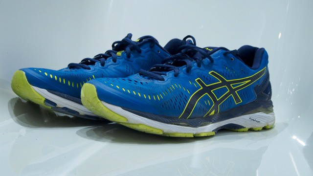 asics gel kayano 23 test