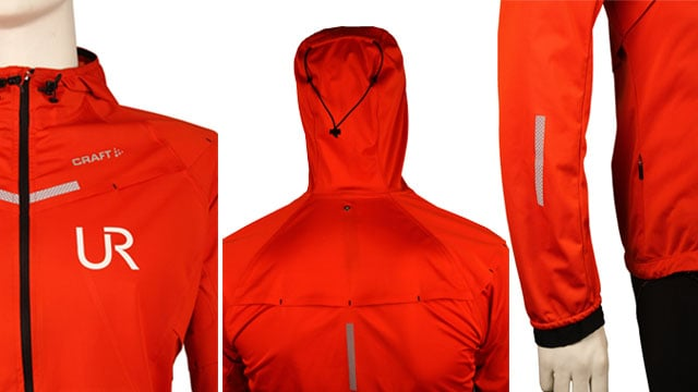 détails Veste craft weather edge imperméable