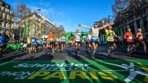 Le marathon de Paris en chiffres