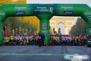 Le marathon de Paris 2017 en photos