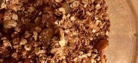 Une recette de granola healthy pour le petit-déjeuner