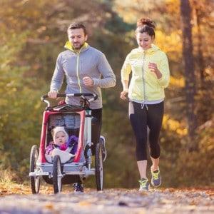 Quelques conseils pour courir avec votre bébé en poussette