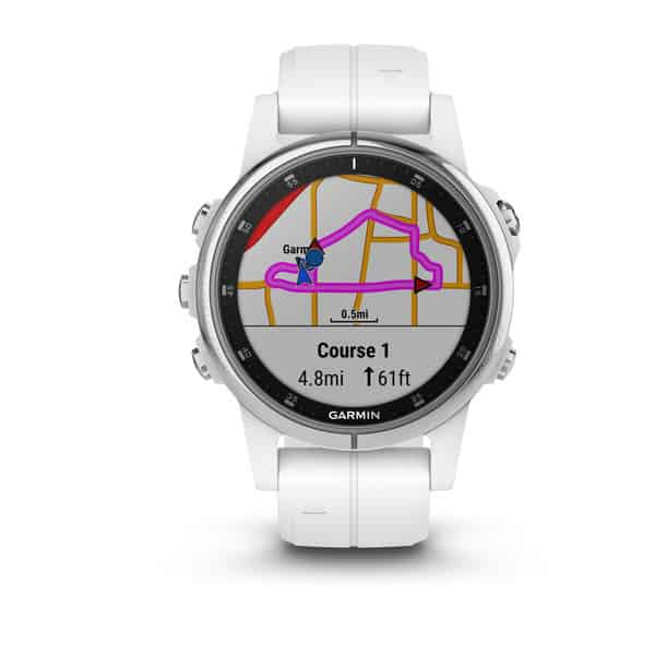 garmin fenix 5 plus cartographie