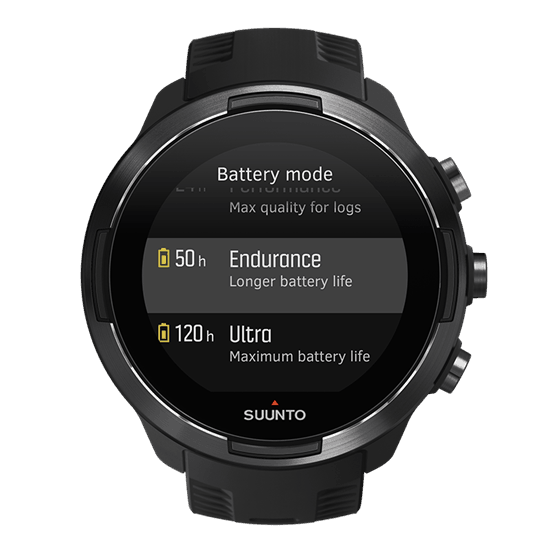 Suunto 9 : autonomie sans limite